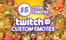 Custom Twitch Emotes for Twitch, Discord, Youtube, Facebook and Stream