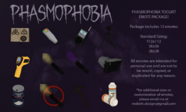Phasmophobia Emotes Package – Twitch, Youtube, Discord