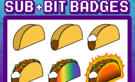Twitch Sub/Bit Badges: Tacos