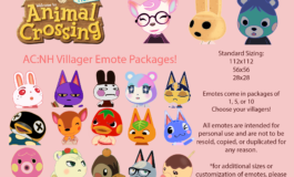 Animal Crossing Villager Emotes (5) – Twitch, Discord, Youtube