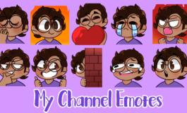 Custom Twitch Emotes for New Affiliates!