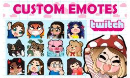 Cute Custom Emotes
